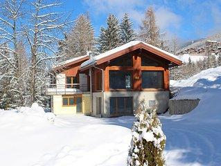 NEUBAU - Luxuschalet (ca. 250 qm) - Grachen (Wallis)/Nahe Zermatt