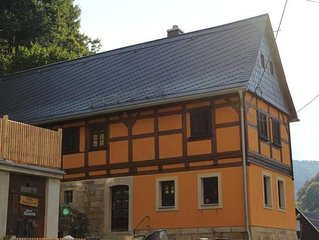 House Bad Schandau for 1 - 6 people with 3 bedrooms - House