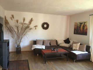Beautiful spacious apartment with large garden and free WiFi access