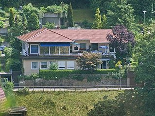 Great apartment (120sqm) on the edge of the Black Forest with large terrace