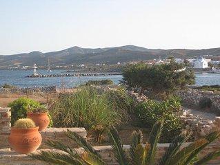 Villa in ruhiger Lage mit Blick auf den Fischerhafen,wenige Meter vom Sandstrand