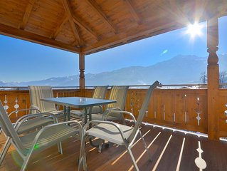 Apartment Igor -modern apartment, with spectacular views, 5 minutes drive to sk