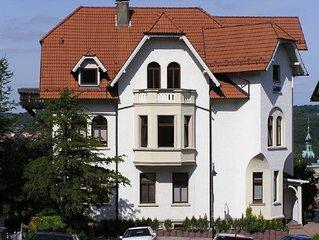 Ferienwohnung mit Panoramablick auf die Altstadt der Wartburgstadt Eisenach