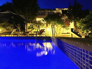 Strandvilla mit Pool, Bootssteg ,Parkplatz, fur 8 Personen , Korcula