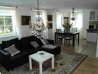 Super apartment in the old town center with Münsterblick in a central location