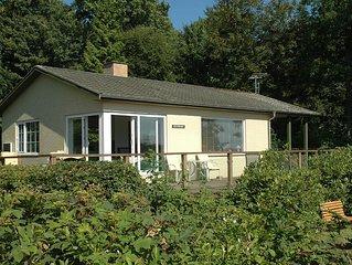 Haus am Wald und Förde für 7 Personen mit 2 Toiletten und separatem Bad