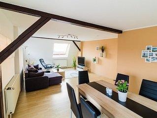Nichtraucher Komfortwohnung für max. 6 P. mit Weser- und Nordseeblick