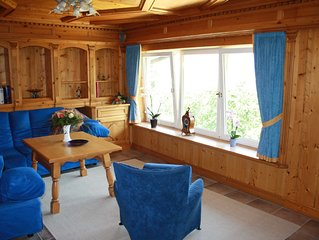 Very large Ferienwhg. (110 m2) in a dream location with 3 sep. Bedroom / mounta