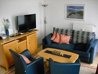Gemutliches Apartment mit Sauna und Pool in ruhiger strandnaher Lage.