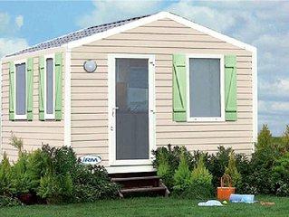 Camping Les Blancs Chênes**** - Mobil Home 2 Pièces 3 Personnes