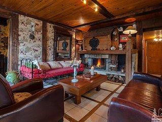 CHALET DE CARACTÈRE avec spa/jacuzzi et sauna
