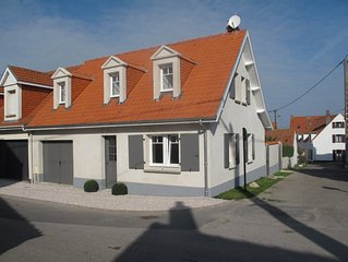 WISSANT Maison Récente à louer pour 6 personnes , à 2 mn à pied de la plage.