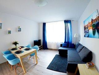 Gdansk Hyper Centre - Appartement confortable et calme, entouré de parcs