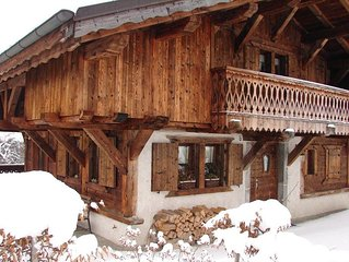 Superb chalet in Montriond