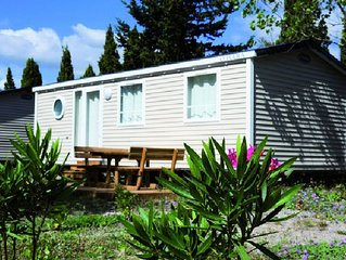 Camping Ensoya *** - Mobile Home 3 Rooms 5 adults + 1 child