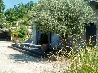 Detached house on one level for 6 people. in Southern Ardèche Balazuc