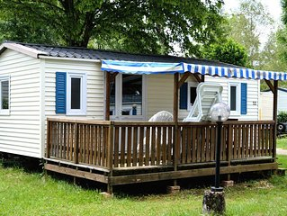 Camping Les Pêcheurs*** - Mobil Home Premium 3 Pièces 4/6 Personnes