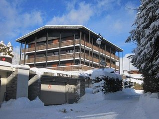 2 ROOMS - 4 PEOPLE MAX - CLOSE TO THE SLOPES AND CENTRAL STATION 300 M