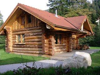 La Bresse, Vosges, beautiful log cabin luxury 85 sqm, river, wifi