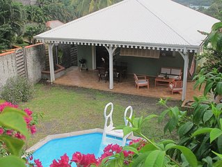 Comfortable villa in François (East Cape) - Swimming pool - Beach 2 minutes