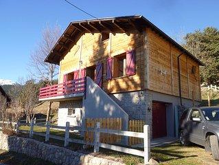 Chalet in mountain village