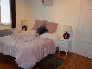 Coquet comfortable cottage for 5 people at the center of Kaysersberg TERRACE