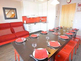Risoul location appartement 10 à 12 pers pieds des pistes, été hiver