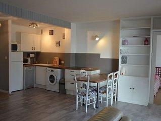 La Baule / Appartement T2 pour 4 personnes à 50 m. de la plage, vue Mer