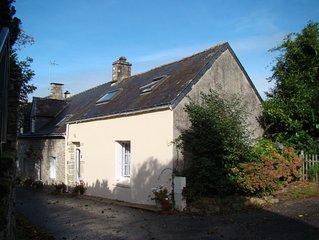 Maison de caractere Bretonne,4km du centre de Vannes Morbihan