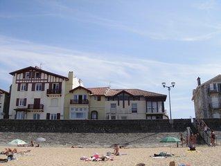Location appartement face à la baie Saint Jean de Luz pour 6 personnes