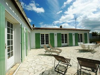 LOVELY AND QUIET HOUSE CLOSE TO THE BEACH FOR 6 PEOPLE IN LA COUARDE / MER
