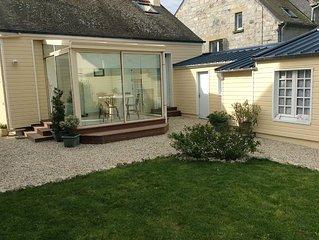 Charmante petite maison proche plage du sillon jardin clos veranda 4 pers