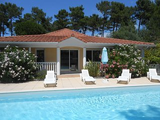 Villa Eden Park, 3 bedrooms, wifi, private pool, garden
