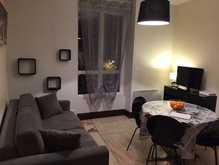 APPARTEMENT T2 CENTRE VILLE IDEAL SKI CURES RANDONNEE WIFI GRATUIT