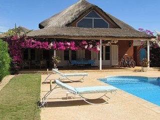 Beautiful villa with pool, comfortable, wi fi in a haven of peace
