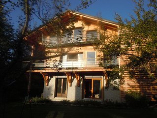 chalet in Saint-Gervais Mont Blanc. In the village 75m comfort