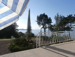 L' ENVIE DU LARGE : Escale de charme  vue imprenable sur la mer, 9 personnes
