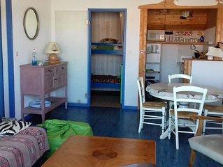 Agreable appartement de 46m a 50m de l'Ocean a Biscarrosse Plage classe 2*