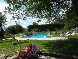 Location villa de vacances avec piscine privee - Haut Var - Provence