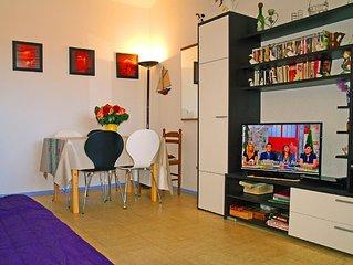 Narbonne-plage - aude - France - confortable appartement avec belle vue sur mer