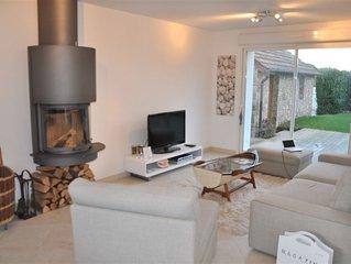 Belle maison contemporaine mitoyenne - 100m plage - 8 Couchages - TREGASTEL