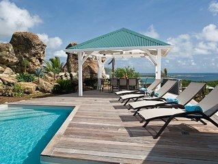 Les Alizes, magnifique villa avec vue imprenable