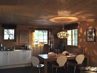 Tres bel appartement dans magnifique chalet, vue exceptionnelle.