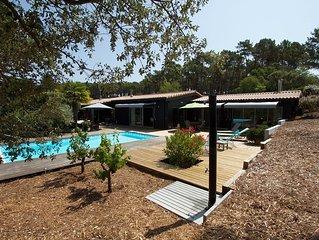 Très belle villa 9/10 pers Lacanau Océan, face au golf