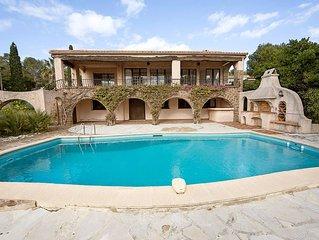 Pres de St Tropez (20km) Villa Les Arcades vue mer avec piscine
