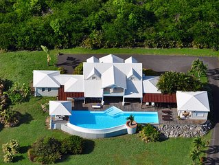 Sumptuous villa in St Francois for 12 people