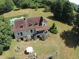 Superbe propriété avec grande piscine - Jusqu'à 21 vacanciers