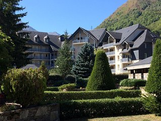 NICE APARTMENT 5 pers. St-Lary village at the foot of the cable car and thermal