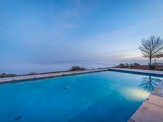 """Paso Robles """"Top of the World"""" Pool with Views and High-End Privacy"""