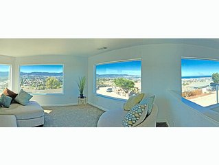 Spectacular 270_ View of entire Monterey Bay and Mountains in this Spacious Home